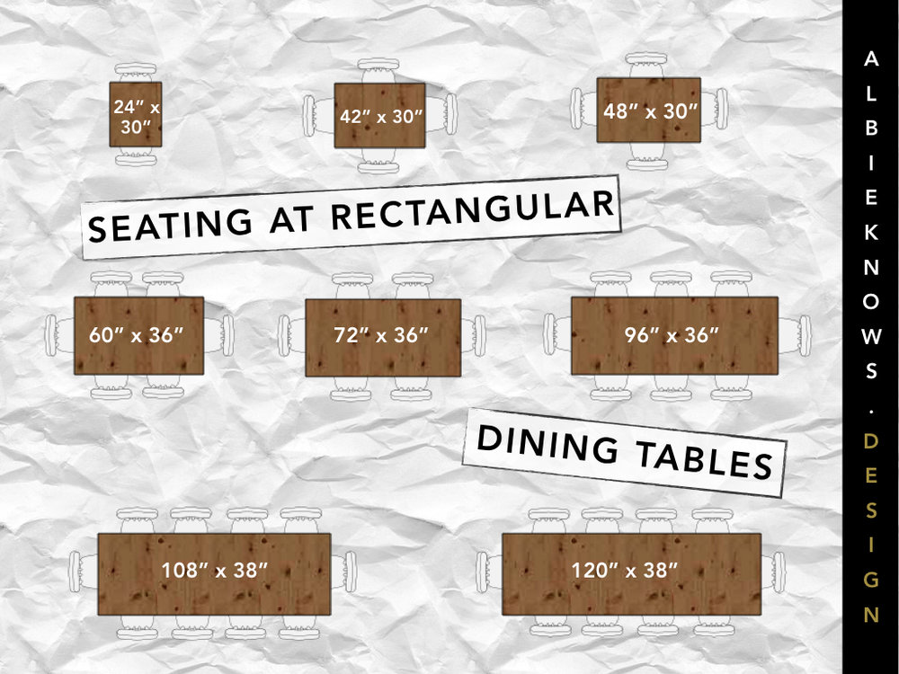 Albie Knows Rectangular Dining Table Guide