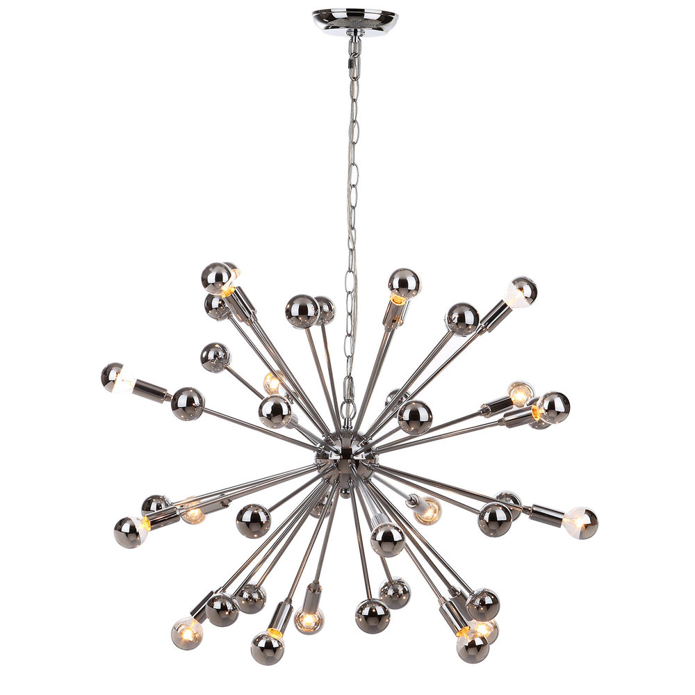 20-Light Starburst Sputnik Pendant Light