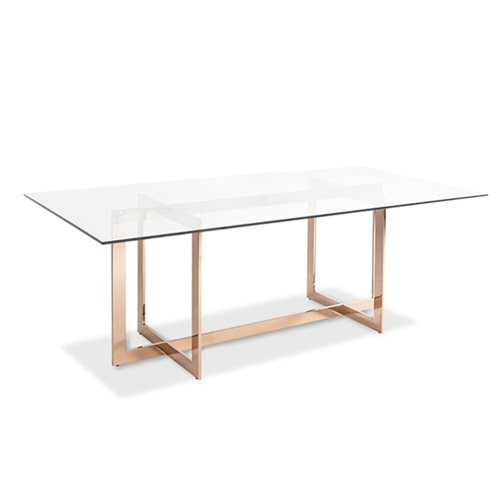 Rose Gold Carmelina Dining Table
