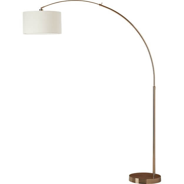 Big Dipper Arc Brass Floor Lamp