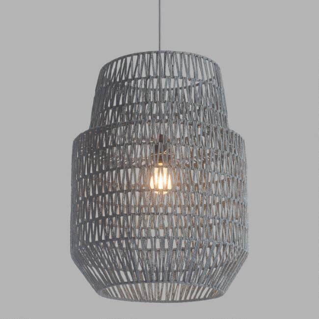 Gray Two Tier Daydream Pendant Lamp