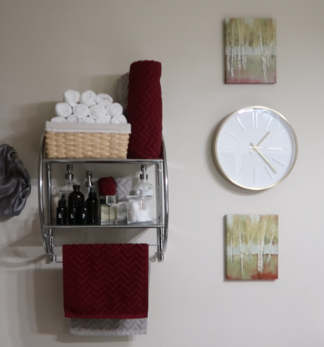 Albie Knows Rental Bathroom Refresh Accessories & Styling