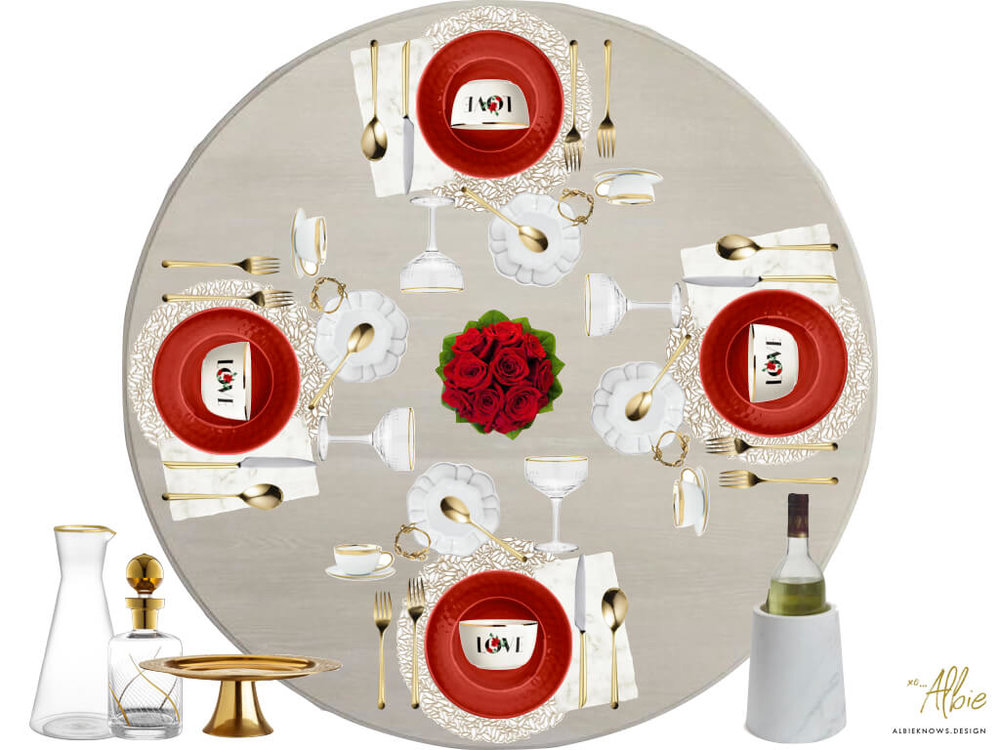 Albie Knows Romantic Candlelight Dinner Valentine's Day Tablescape 2.jpeg