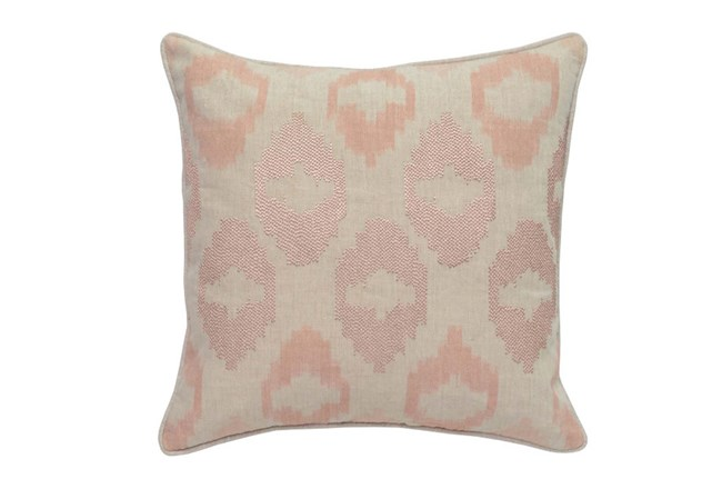 Rose Gold Metallic Ikat