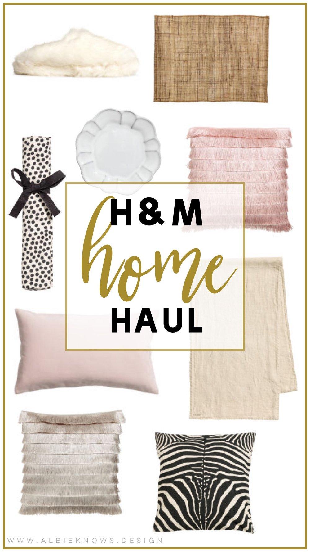 Albie Knows H&M Spring Hygge Haul