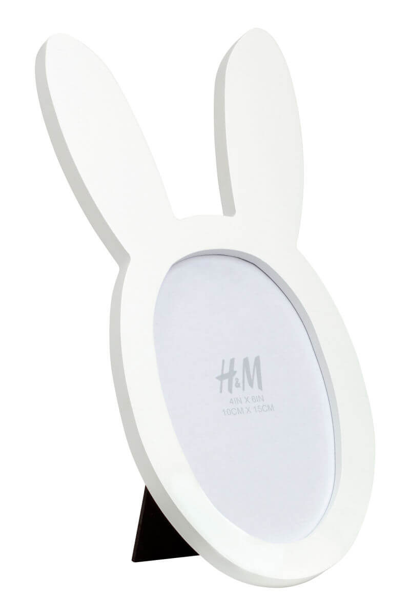 photo frame with rabbit ears