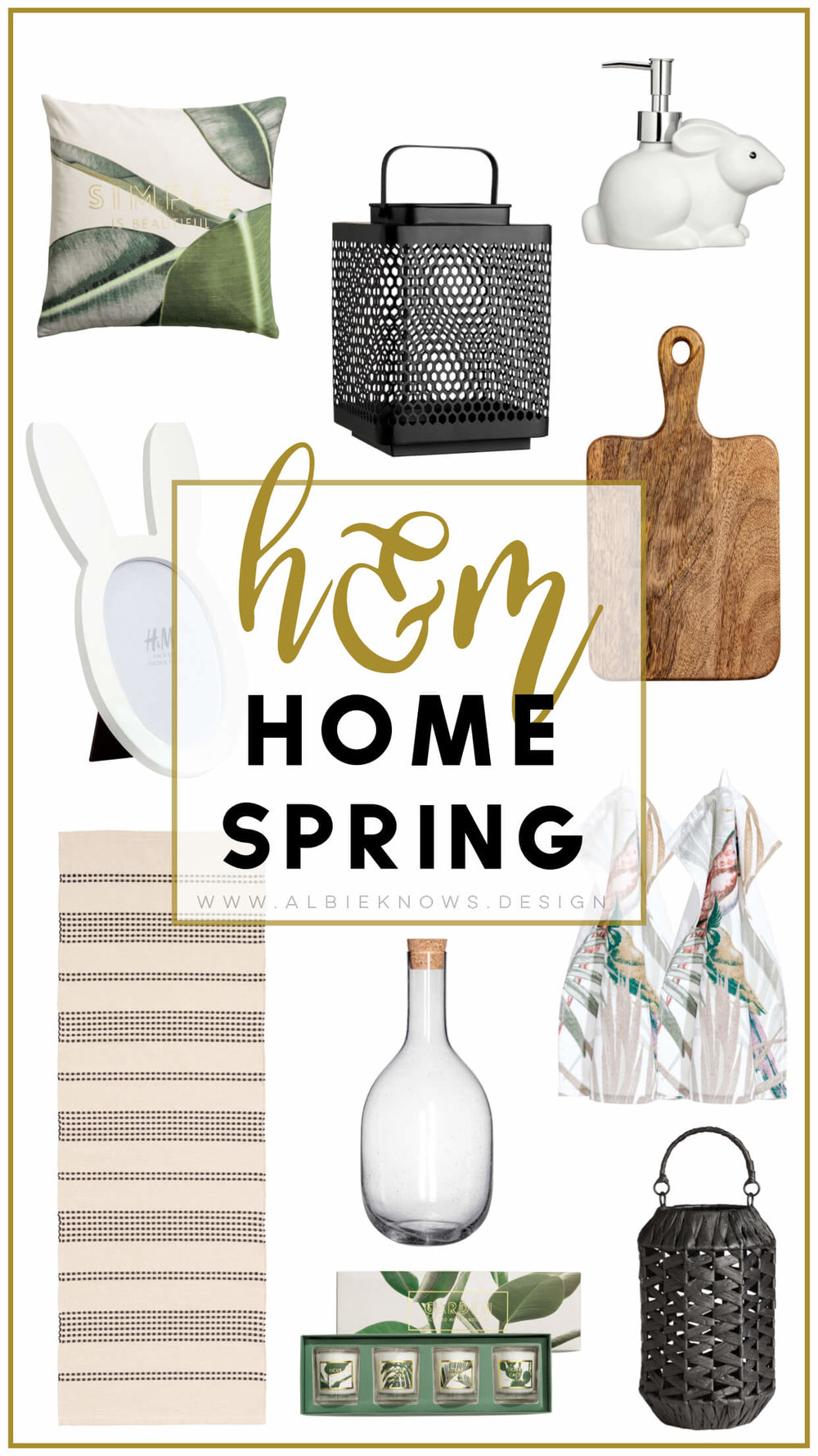 Albie Knows Spring H&M Home Haul