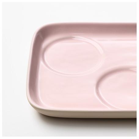 Albie Knows ORC -- KÖRSBÄR Saucer in Pink (IKEA)