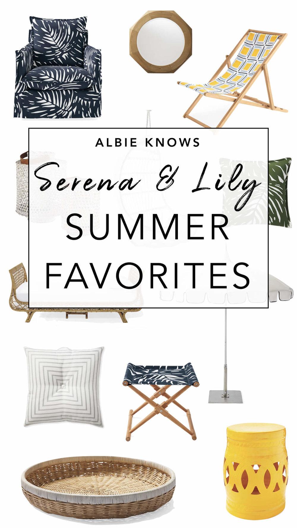 Serena & Lily Summer Favorites