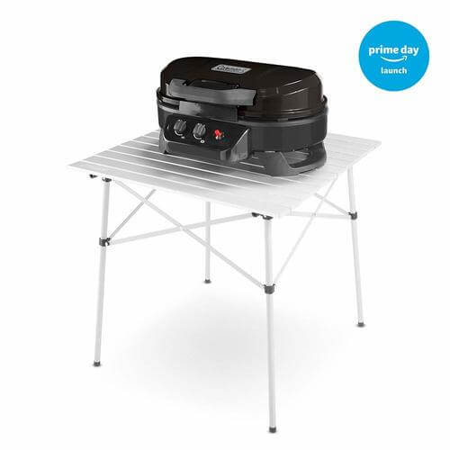 RoadTrip 225 Portable Tabletop Propane Grill, Black