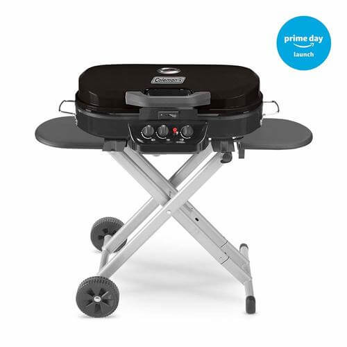 : RoadTrip 285 Portable Stand-Up Propane Grill, Black