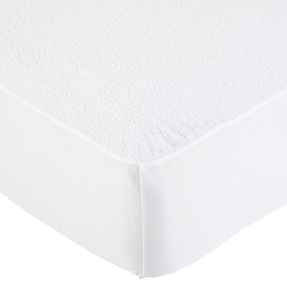 Hypoallergenic Waterproof Fitted Mattress Protector, Queen