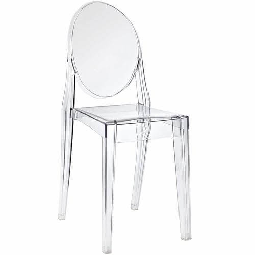 Casper Dining Side Chair in Clear