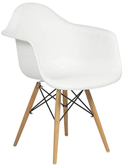 Molded Shell Arm Chair