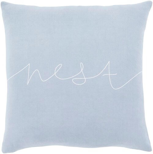Motto WhiteBlack Transitional Pillow Cover Pillow Cover