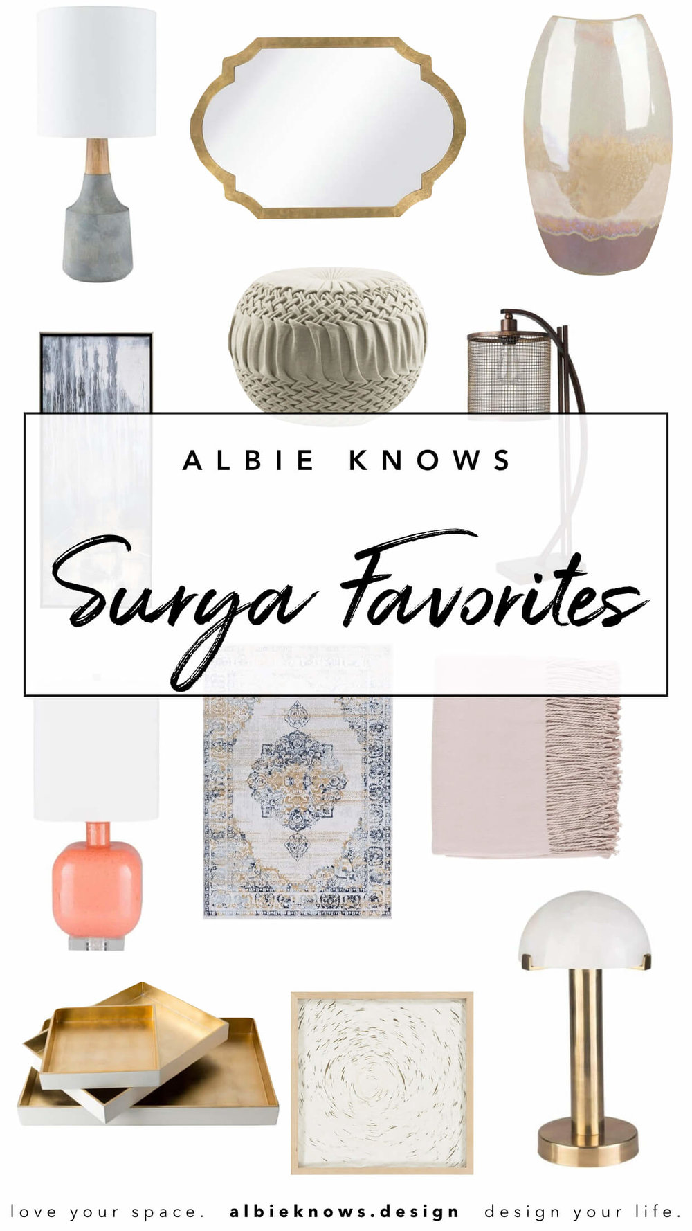 Surya Home Favorites by Albie Knows