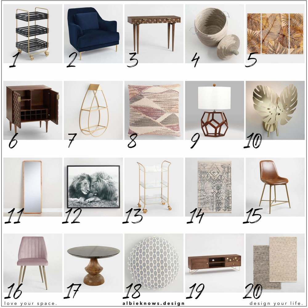 Albie Knows Cost Plus World Market New Arrivals Roundup