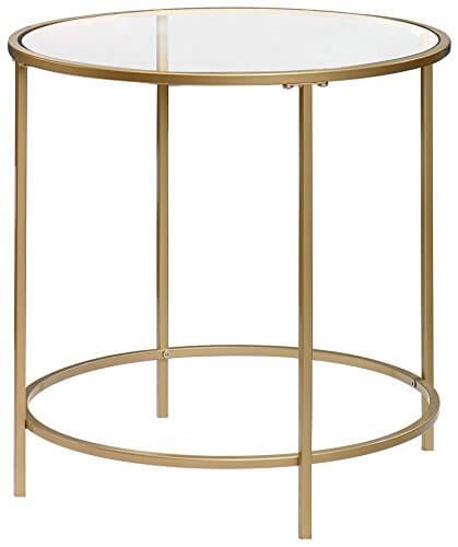 Lux Side Table Round | Amazon