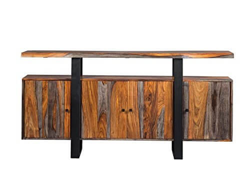 Jamestown Collection Grey Finish Wood Server | Amazon