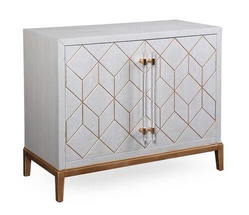 Thoroughly Modern Perrine Hospitality Cabinet | Wayfair