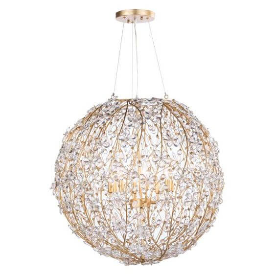 High Point Market || New Product Picks || Regina-Andrew Design || Cheshire Large Chandelier Gold