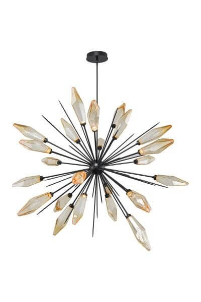High Point Market || New Product Picks || Hammerton/Hammerton Studio || Rock Crystal Large-Scale Starburst Chandelier