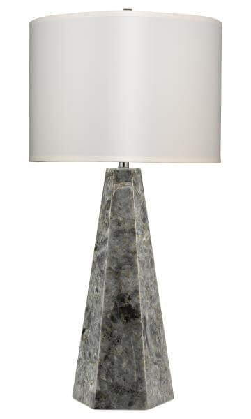 High Point Market || New Product Picks || Jamie Young Company || Borealis Hexagon Table Lamp