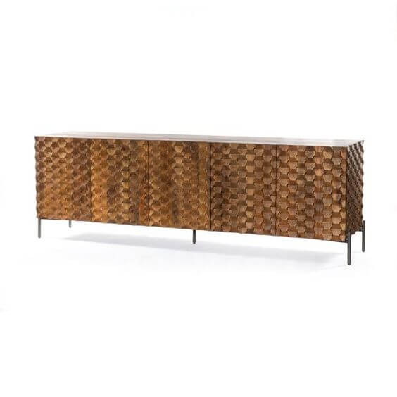 High Point Market || New Product Picks || Four Hands || Raffael Media Console