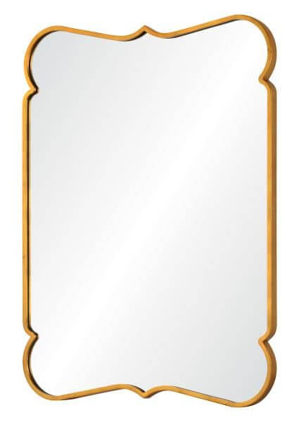 High Point Market || New Product Picks || Mirror Image Home || Distressed Gold Leaf Iron Mirror