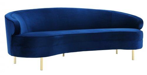 Hewitt Velvet Sofa
