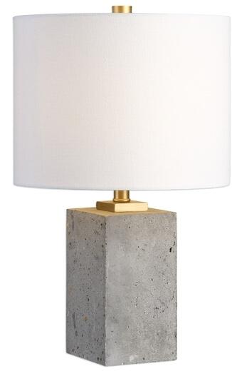 Shani Table Lamp, Concrete