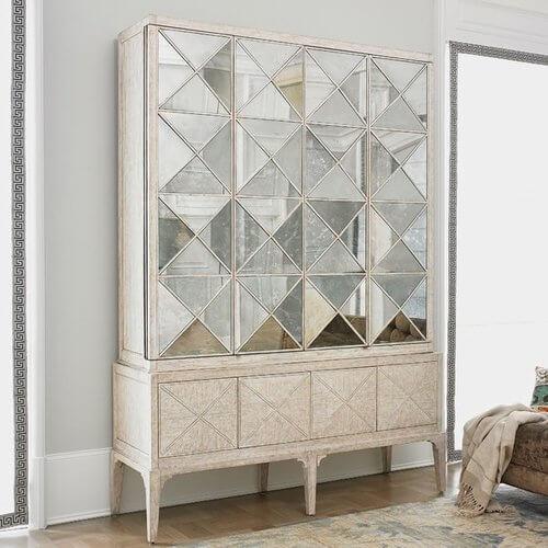 Escher 6 Door Accent Cabinet