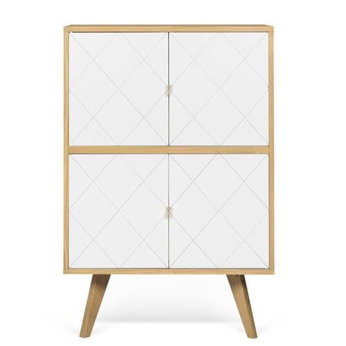 Brigitte 2 Door Accent Cabinet
