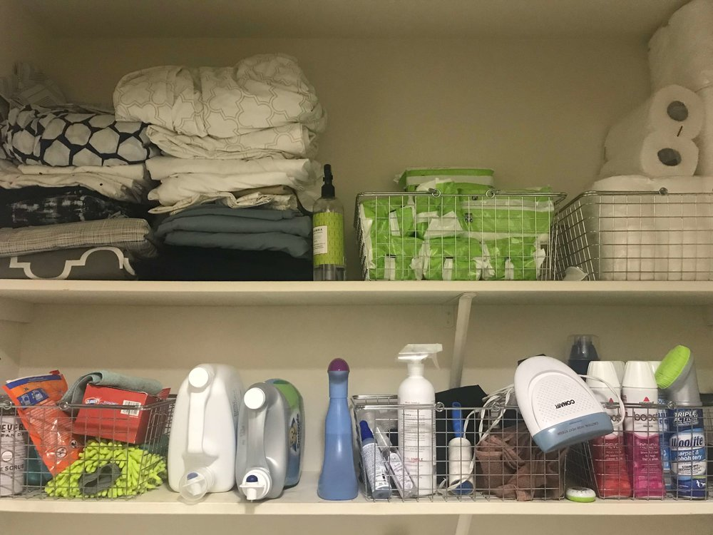 BEFORE | Laundry Room Makeover