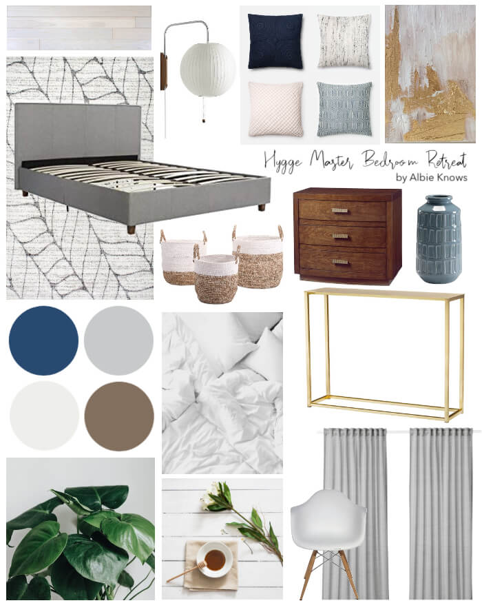 One Room Challenge - Albie Knows Hygge Master Bedroom