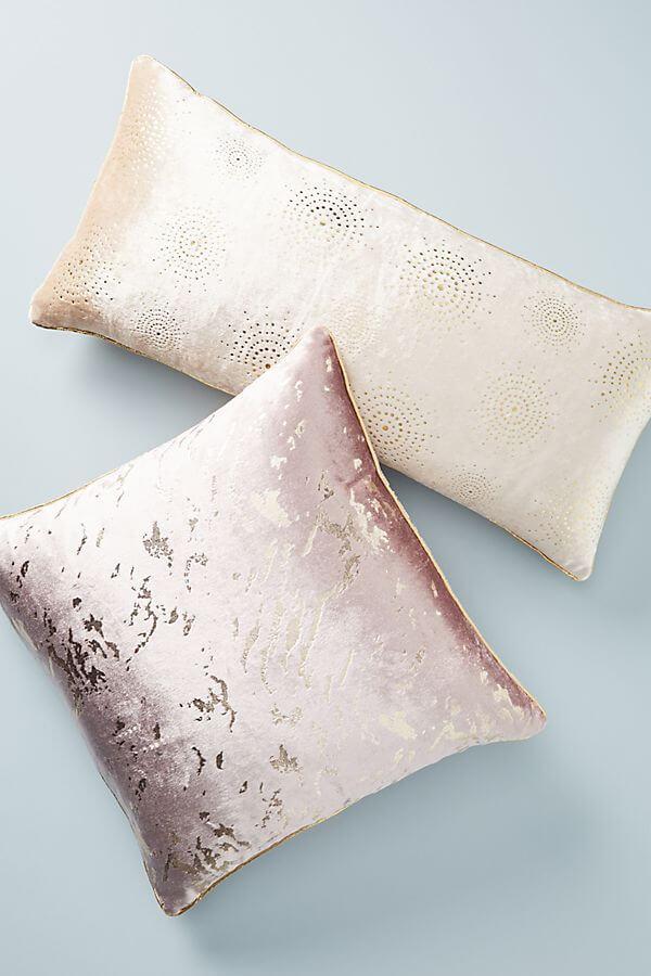 Gilded Velvet Pillow - $38.00 –$48.00