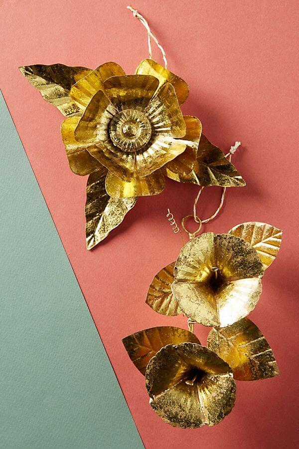 Papetal Flower Ornament - #20.00
