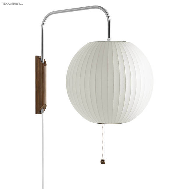 Ball Bubble Wall Sconce By George Nelson for Nelson Bubble Lamps