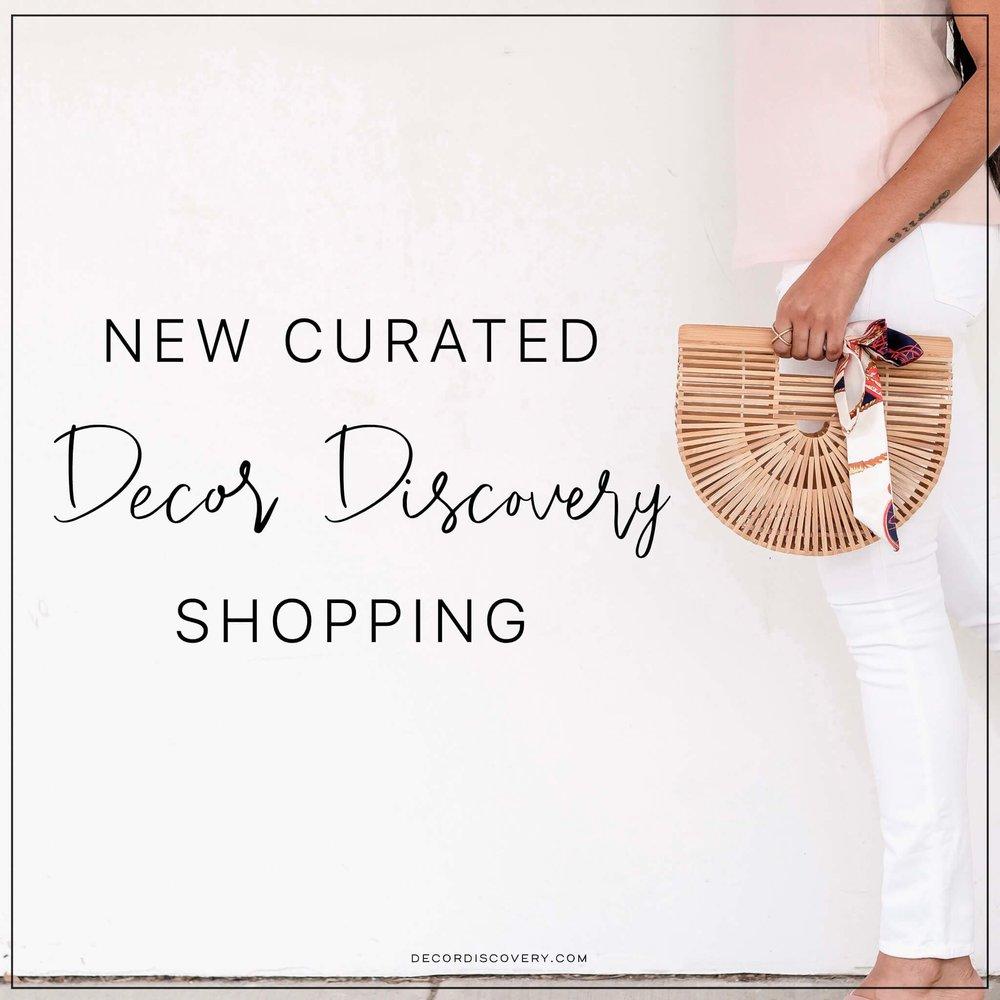 Albie Knows Decor Discovery Shop Launch
