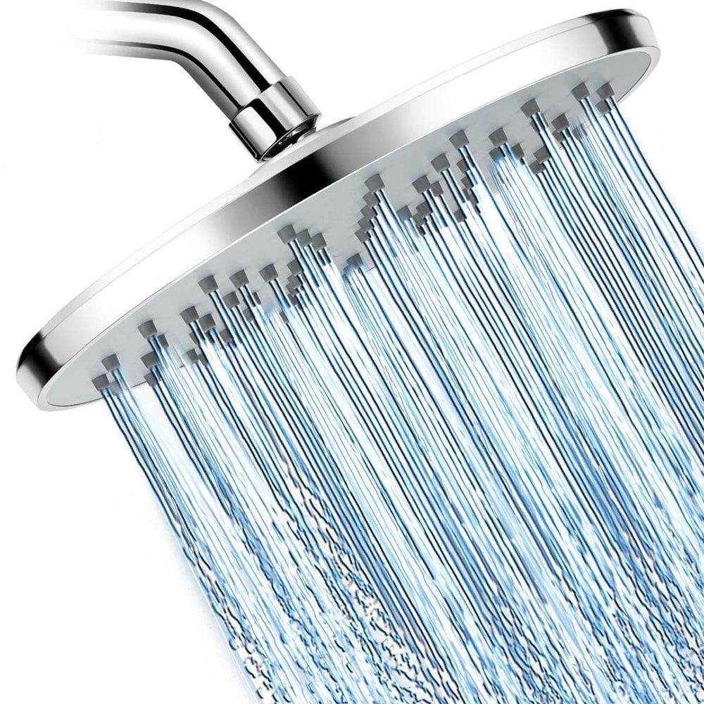 High Pressure 9'' Luxury ABS Rainfall Shower Head by WarmSpray
