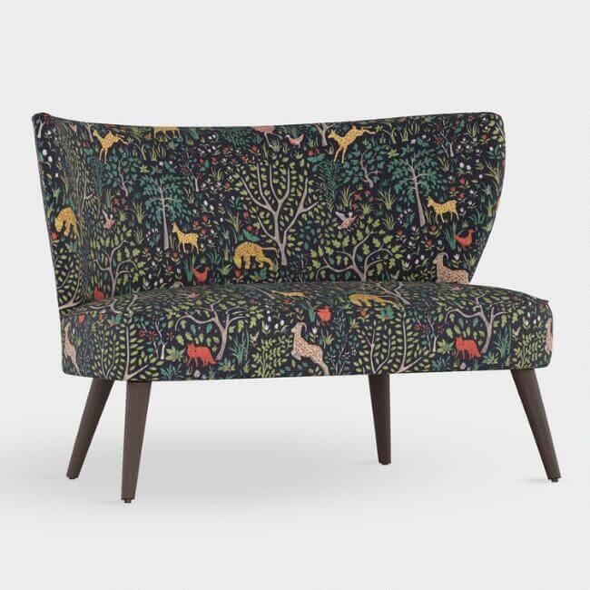 Folkland Kenway Upholstered Love Seat