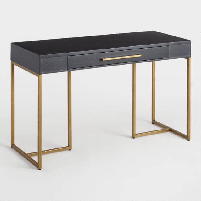 Herringbone Wood Wayde Desk