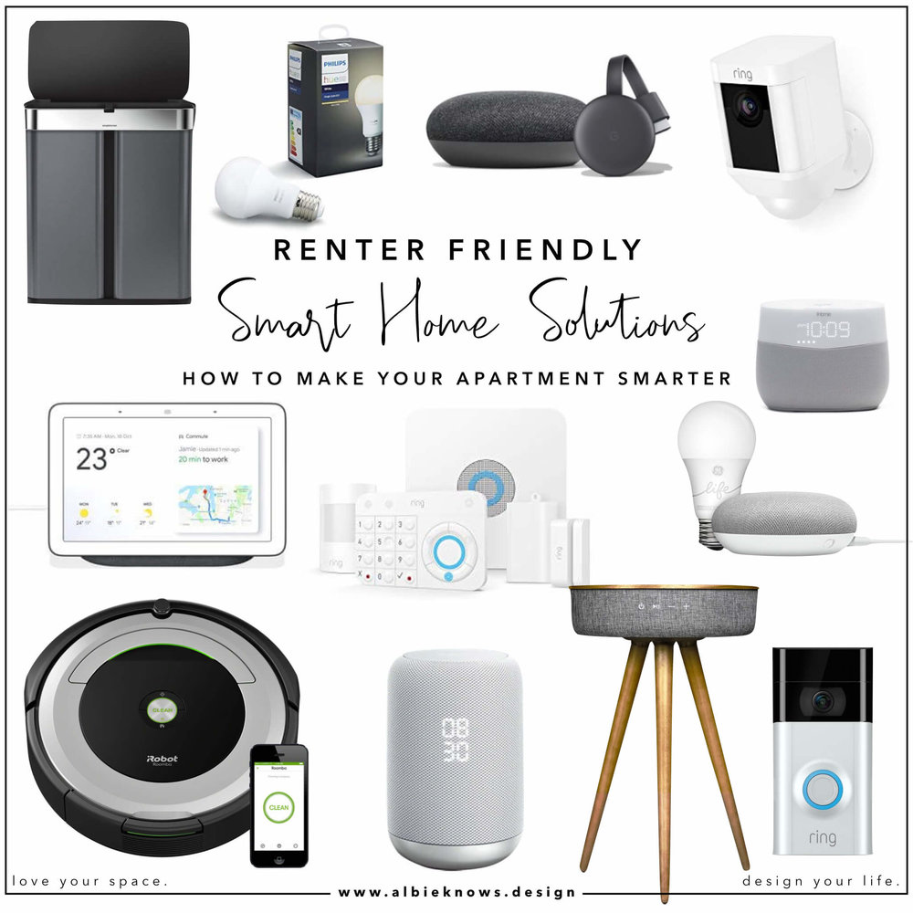 Albie Knows Renter Friendly Smart Home Solutions
