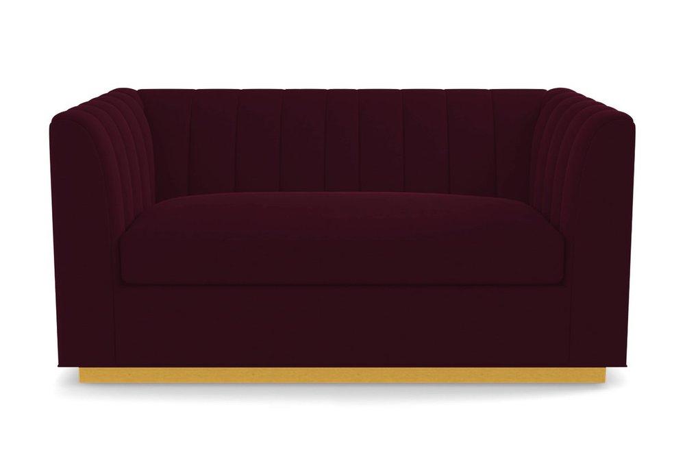 Contemporary Glam - Nora Apartment Size Sofa