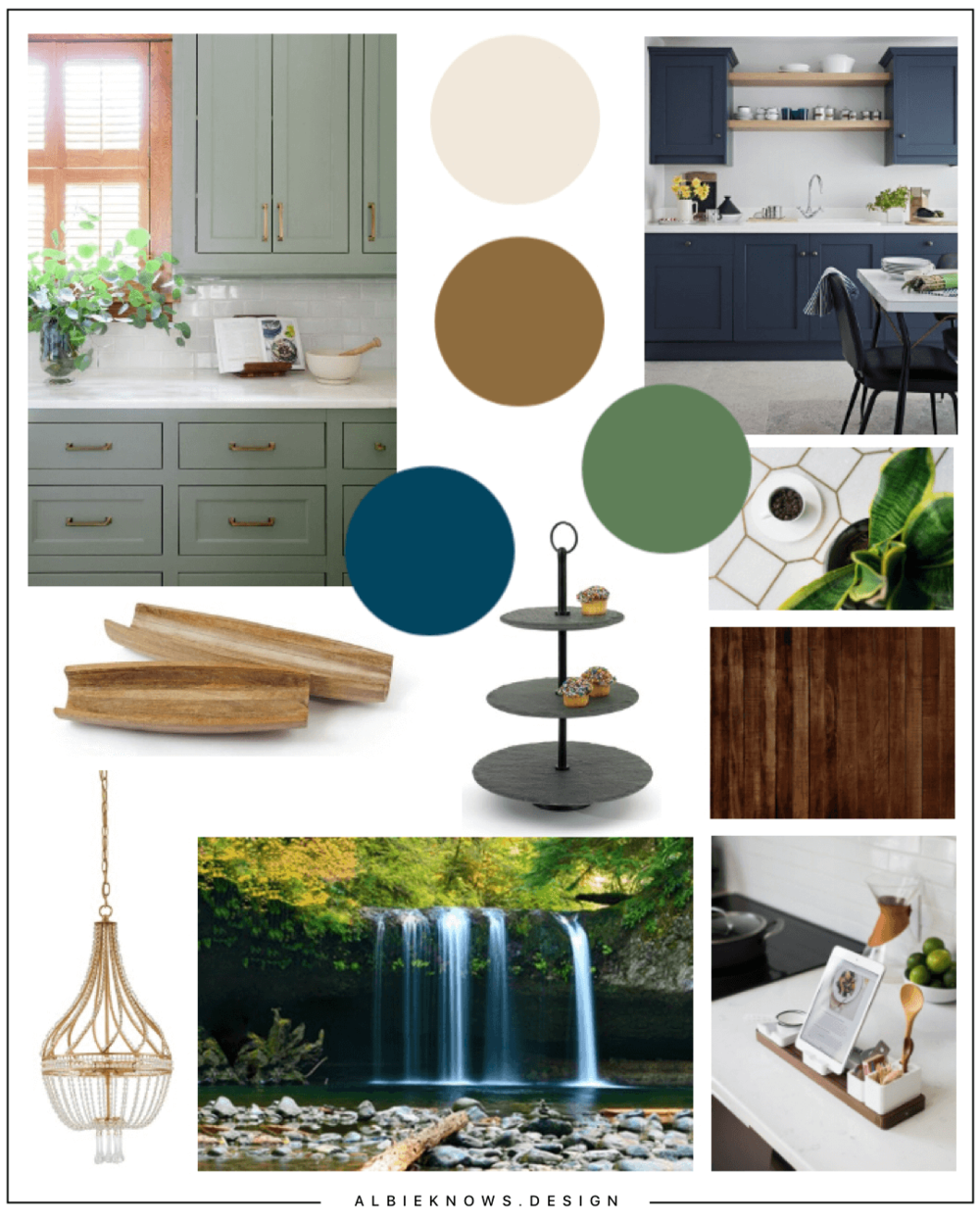 Curated Country Kitchen - Nature inspired with hints of Hygge, this heart of the home is filled with soothing tones, natural finishes, and curated decor.