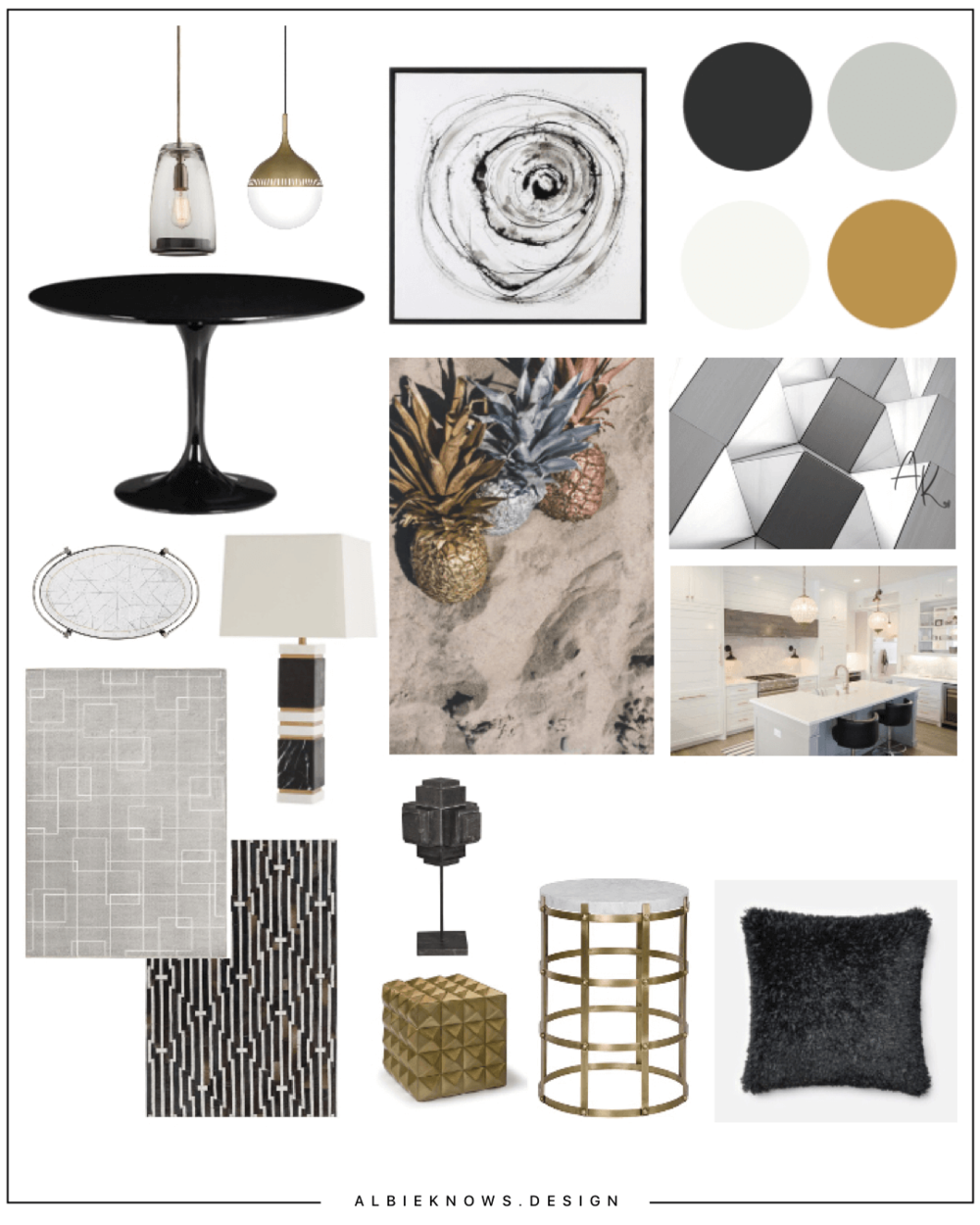 Hollywood Chic Home - Glam finishes with neutral hues come together to create a Hollywood inspired design that is full of elegance, character, and warmth.