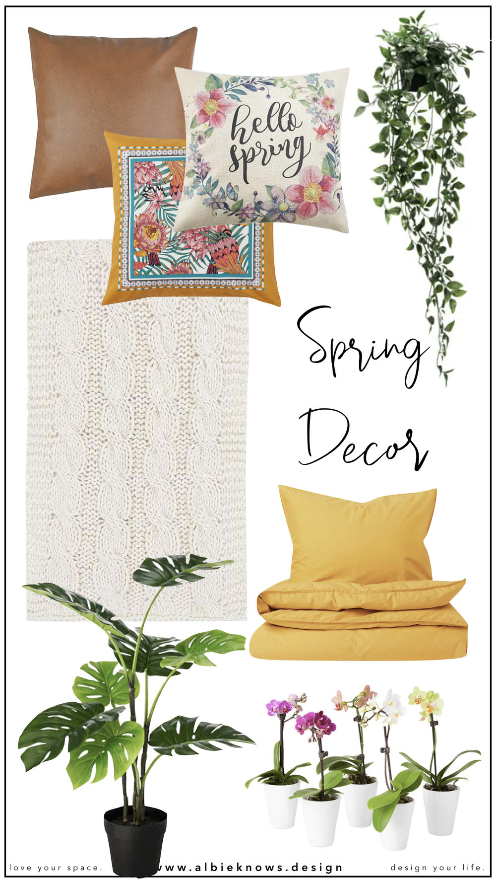 Transition Your Home Into Spring | Albie Knows