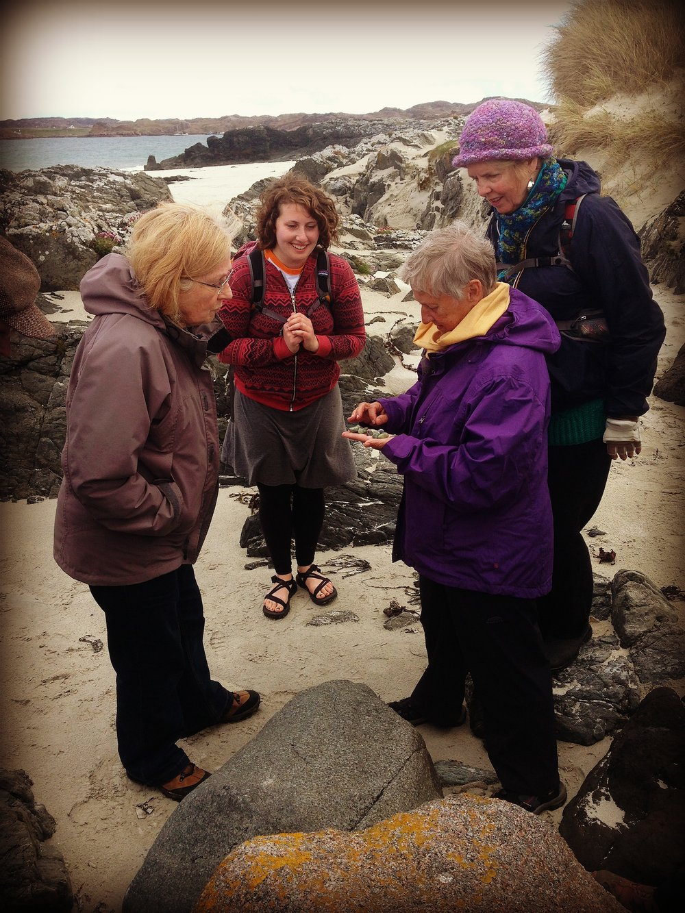 Exploring Iona's ancient stories through stone