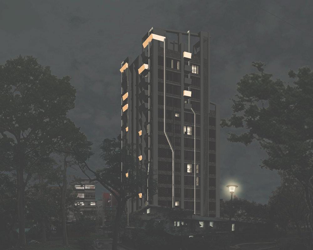 內湖海砂屋重建 - 事計審查階段內湖區江南街71巷16弄5號