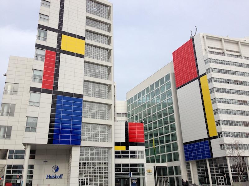 海牙市政廳/ 蒙德里安 /  圖片來源  Den Haag city hall /Piet Cornelies Mondrian